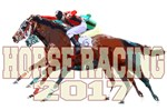 Horse Racing 2017 White Lettering