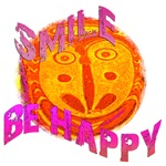 Smile, Be Happy Gifts & T-Shirts