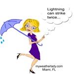 Lightning Can Strike Twice, Miami, FL