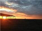 Prairie Morning Sun