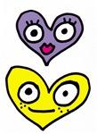 Boy + Girl Hearts #2