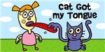Cat got my tongue