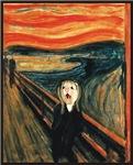 Ferret Scream Munch
