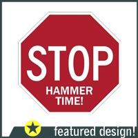 Stop Sign Vandals