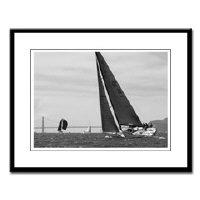 <b>black + white san francisco sailing photography