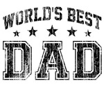 World's Best Dad Vintage