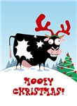 Mooey Christmas! Cards