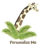 Personalized Giraffe