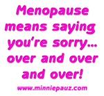 Saying Sorry!