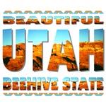 UTAH - Beautiful Beehive State