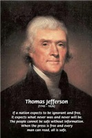 Power of the Press: safety Freedom Jefferson