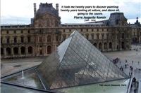 Pierre Auguste Renoir The Louvre & Nature