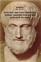 Greek Philosophers: Aristotle on Law & Justice