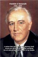 Environment Conservation: Franklin D. Roosevelt