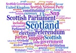 Scottish Independence Concept Cloud