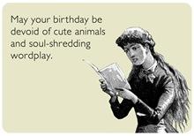 Birthday Wordplay