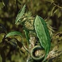 Perching Leaf Dragon