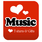 I Love Music T-shirts & I Love Music T-shirt