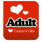 I Love Adult T-shirts & I Heart Adult T-shirts