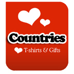 I Love Countries T-shirts