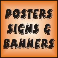 Posters Signs & Banners