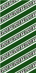 Rugby Stripes green white