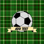 Soccer Pitch Plaid