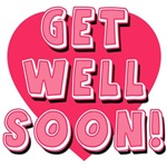 Get Well Soon in Pink