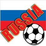 RUSSIA World Soccer Tee