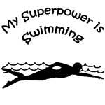 My Superpower is Swimming T-shirts and Gifts