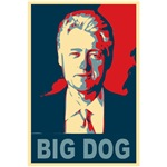 Bill Clinton, Big Dog Pop Art