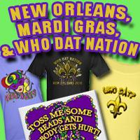 MARDI GRAS and NEW ORLEANS PRIDE