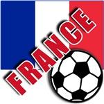 World Soccer FRANCE Team T-shirts