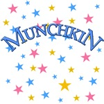 MUNCHKIN in Blue Wizard of Oz Tshirts