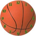 Basketball Clock (yellow, blue or green))