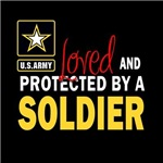 Loved and Protected By a Soldier