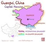 Guangxi, China mini Map