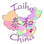 Taihe Color Map, China