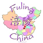 Fuling Color Map, China