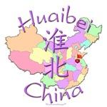 Huaibei China Color Map
