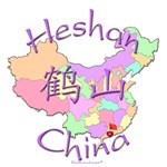 Heshan China Color Map