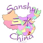 Sanshui China Color Map