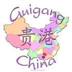 Guigang China Color Map