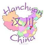 Hanchuan Color Map, China