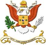 Army - Regimental Colors - 53rd Armor Regiment