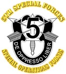 5th Special Forces - DUI