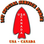 SOF - 1st Special Service Force - USA - Canada