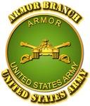 Army - Armor Branch Plaque