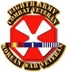 Army - 8th Army w Korean Svc