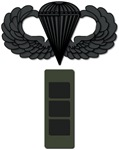 Cheif Warrant Officer 3 - Pin-On - Airborne